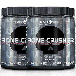 Kit 2X Bone Crusher 300g - Black Skull