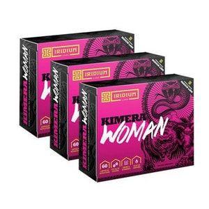 Kit 3X Kimera Woman 60 Cápsulas - Iridium Labs