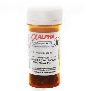 Alpha Axcell 30 Cápsulas - Power Supplements