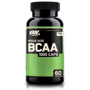 BCAA 1000 Mega Size 60 Cápsulas - Optimum Nutrition