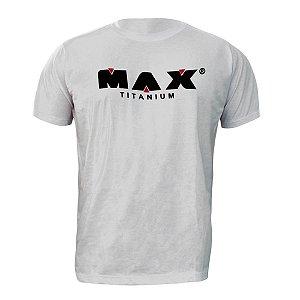 Camiseta Branca Max Titanium