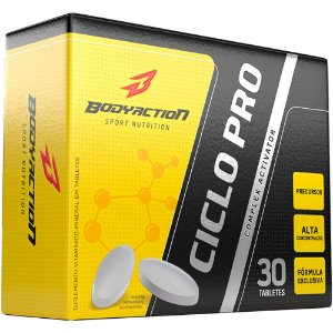 Ciclo Pro 30 Tabletes - Body Action