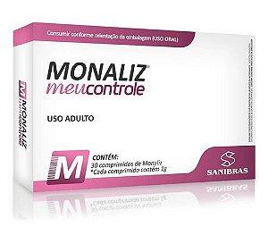 Monaliz Meu Controle 30 Cápsulas - Sanibras