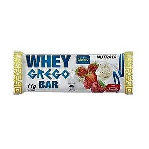 Whey Grego Bar 40g - Nutrata