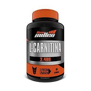 L-Carnitina 2.400 90 Cápsulas - New Millen