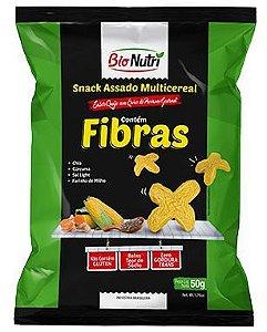 Snack de Milho Fibras Sabor Queijo com Erva de Provance Gourmet 50g - Bionutri