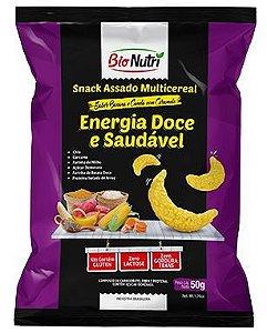 Snack de Milho Energia Sabor Banana e Canela com Caramelo 50g - Bionutri