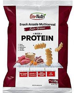 Snack de Arroz Protein Sabor Barbecue 35g - Bionutri