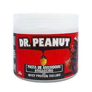 Pasta de Amendoim Brigadeiro com Whey 500g - Dr. Peanut