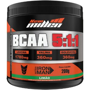 BCAA Powder 5:1:1 200g - New Millen