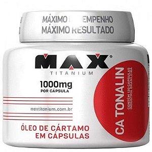 Óleo de Cártamo CA Tonalin 120 Cápsulas - Max Titanium