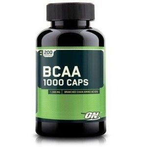 BCAA 1000 Mega Size 200 Cápsulas - Optimum Nutrition
