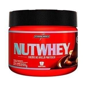 Creme de Avelã Proteico NutWhey Cream 200g - IntegralMédica