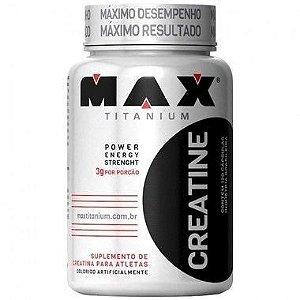 Creatine 120 Cápsulas - Max Titanium