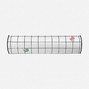 Rolo peseira Grid Passarinhos (várias medidas)