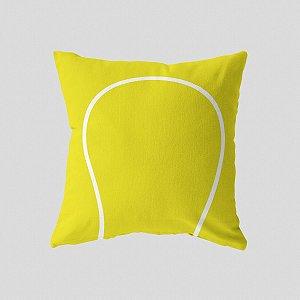 Capa de almofada Bola de Tenis