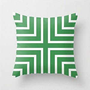 Capa de almofada + Verde