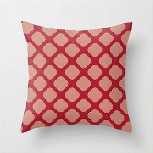 Capa de almofada Cute vermelho