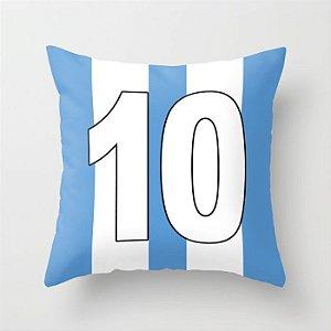 Capa de almofada Camisa 10 Azul