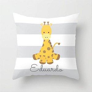 Capa de almofada Girafinha