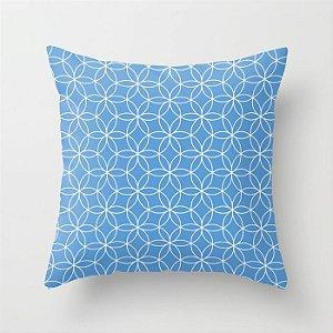 Capa de almofada Lotus Azul Céu