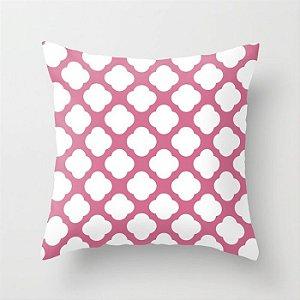 Capa de almofada Cute Rosa Chiclete