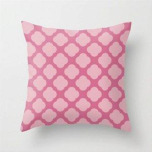 Capa de almofada Cute Rosa Chiclete 2