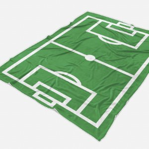 Manta carrinho Campo de Futebol