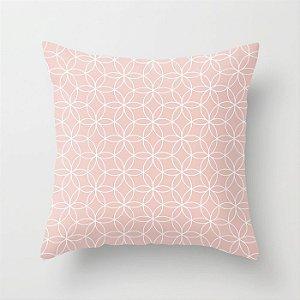 Capa de almofada Lotus Rosa Quartzo
