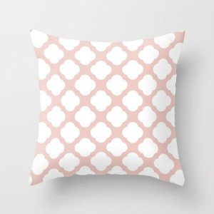 Capa de almofada Cute Rosa Quartzo