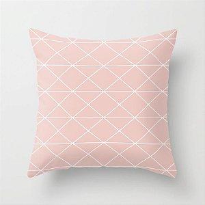 Capa de almofada Prisma Rosa Quartzo