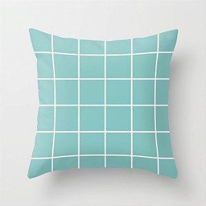 Capa de almofada Quadrados Tiffany
