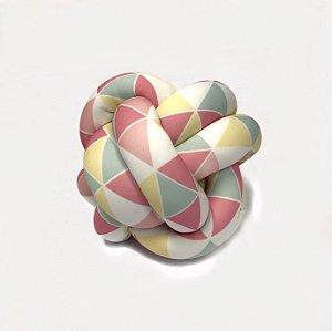 Almofada Nó Triangulos Candy