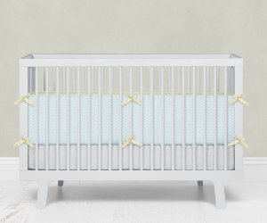 Kit Berço Ziggy Azul Bebê