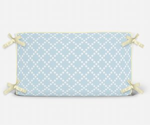 Cabeceira em espuma Pearl Azul Bebê