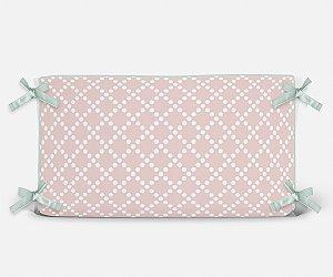 Cabeceira em espuma Pearl Rosa Quartzo