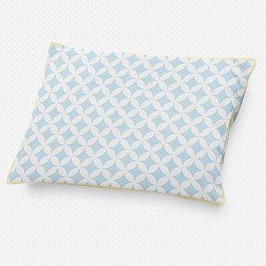 Almofada de cabeceira Circles 2 Azul Bebê