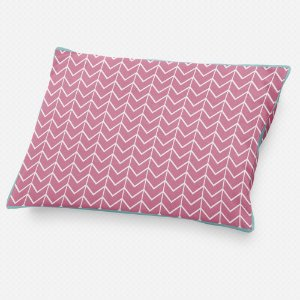 Almofada de cabeceira Ziggy Rosa Chiclete