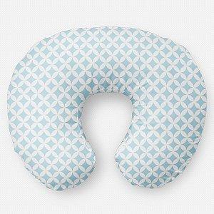 Almofada de amamentação Circles 2 Azul Bebê