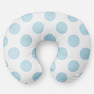 Almofada de amamentação Bolas Azul Bebê