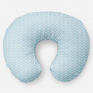 Almofada de amamentação Ziggy Azul Bebê