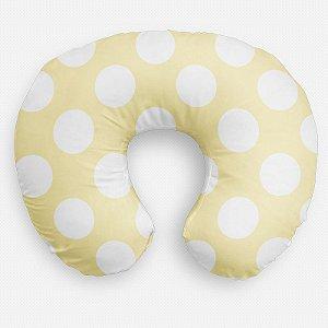 Almofada de amamentação Amarelo Bebê com Bolas