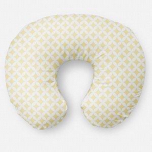 Almofada de amamentação Circles 2 Amarelo Bebê