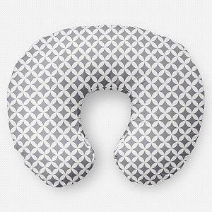Almofada de amamentação Circles 2 Cinza