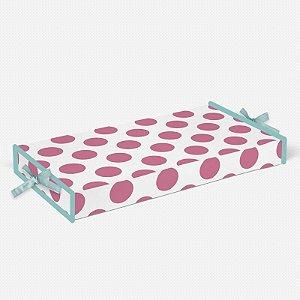 Trocador Bolas Rosa Chiclete