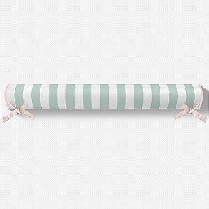 Rolo lateral para cama montessoriana Listras Menta