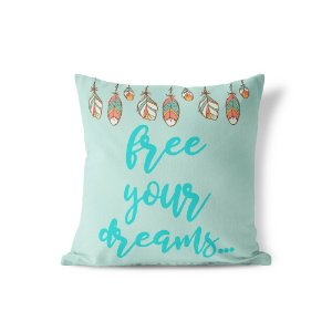 Capa de almofada Free Your Dreams