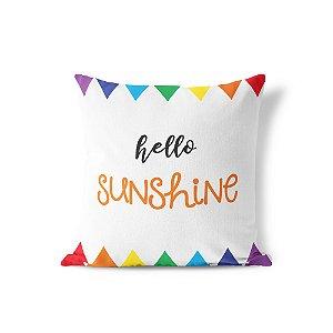 Capa de almofada Hello Sunshine