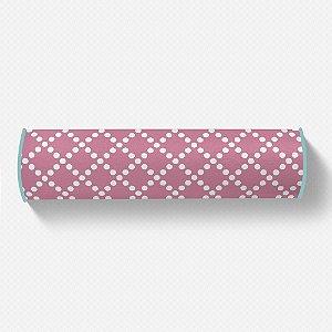 Rolo peseira Pearl Rosa Chiclete