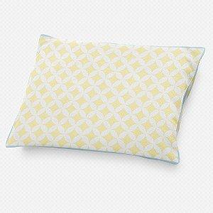 Almofada de cabeceira Circles 2 Amarelo Bebê